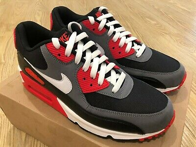 Previously shoulder Inlay  Nike Air Max 90 CLASSIC Reverse Infrared 345188 001 Size 9 US | eBay