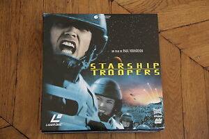 STARSHIP-TROOPERS-LASERDISC-VF-PAL-PAUL-VERHOEVEN