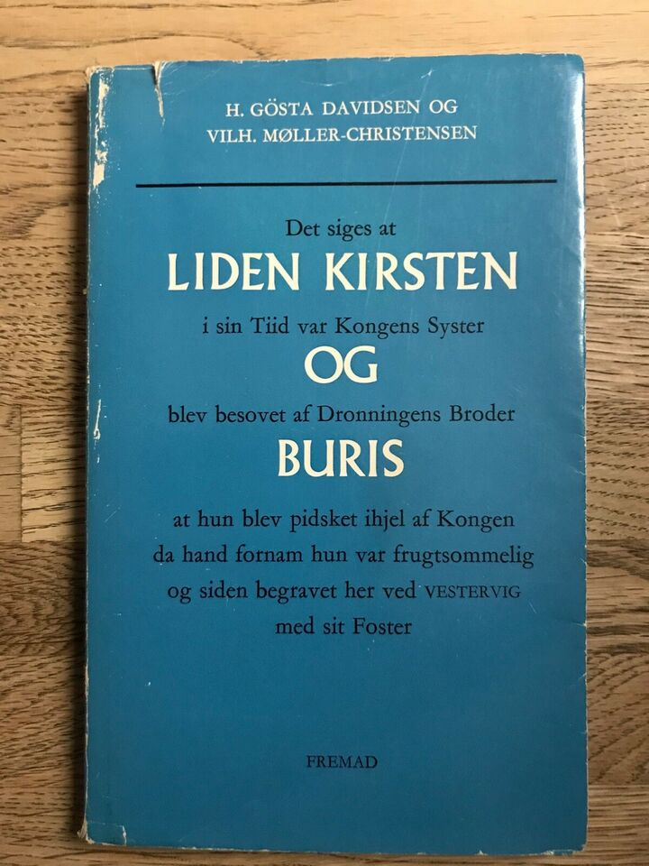 Liden Kirsten og Buris, H. Gösta Davidsen og Vilh.