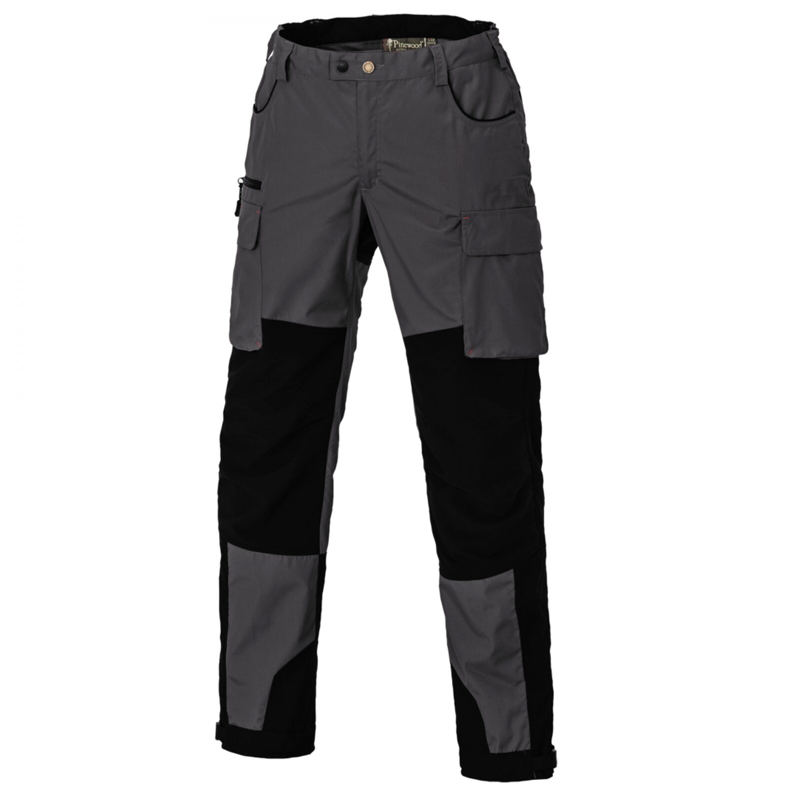 Pinewood Dog-Sports outdoor-, senderismo-, trekking pantalones gris oscuro negro mujer