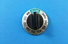 WB3X466  GE Oven Square Top Self Clean Thermostat Knob w/Left D Shaft; KN-8e1