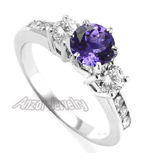 tanzanite lrg rsp gold ring shop cluster and flower white diamond