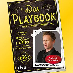 DAS-PLAYBOOK-BARNEY-STINSON-mit-Matt-Kuhn-How-i-met-your-Mother-Buch