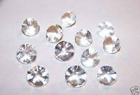 Edible Sugar Diamonds Small 8mm Clear (pack Of 28) Cake Decoration Wedding