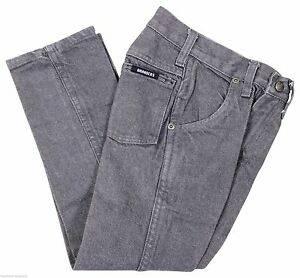 NEW VTG 90s DICKIES Boys Branders JEANS Gray Size 4 Zip Fly Deadstock NWT NOS