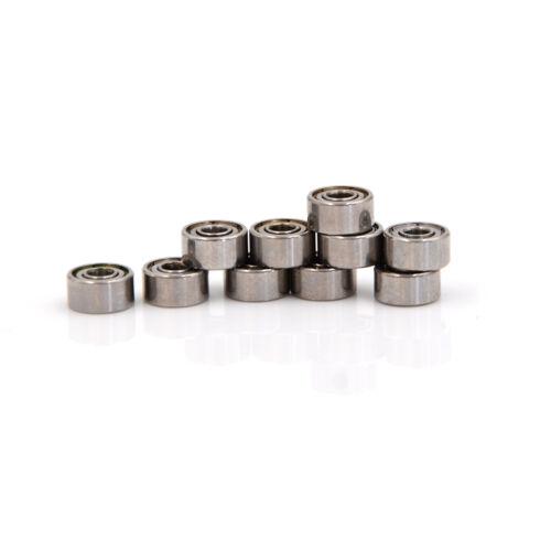 10pcs 693ZZ Bearing Steel Miniature Ball Bearings 3*8*4mm Shielded Bearing V!