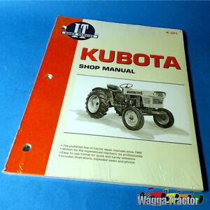 k201 workshop manual kubota l l185 l210 l245 l275 tractor b b5100 rh ebay com au Kubota L4740 Repair Manuals Po606 Masataka Kubota