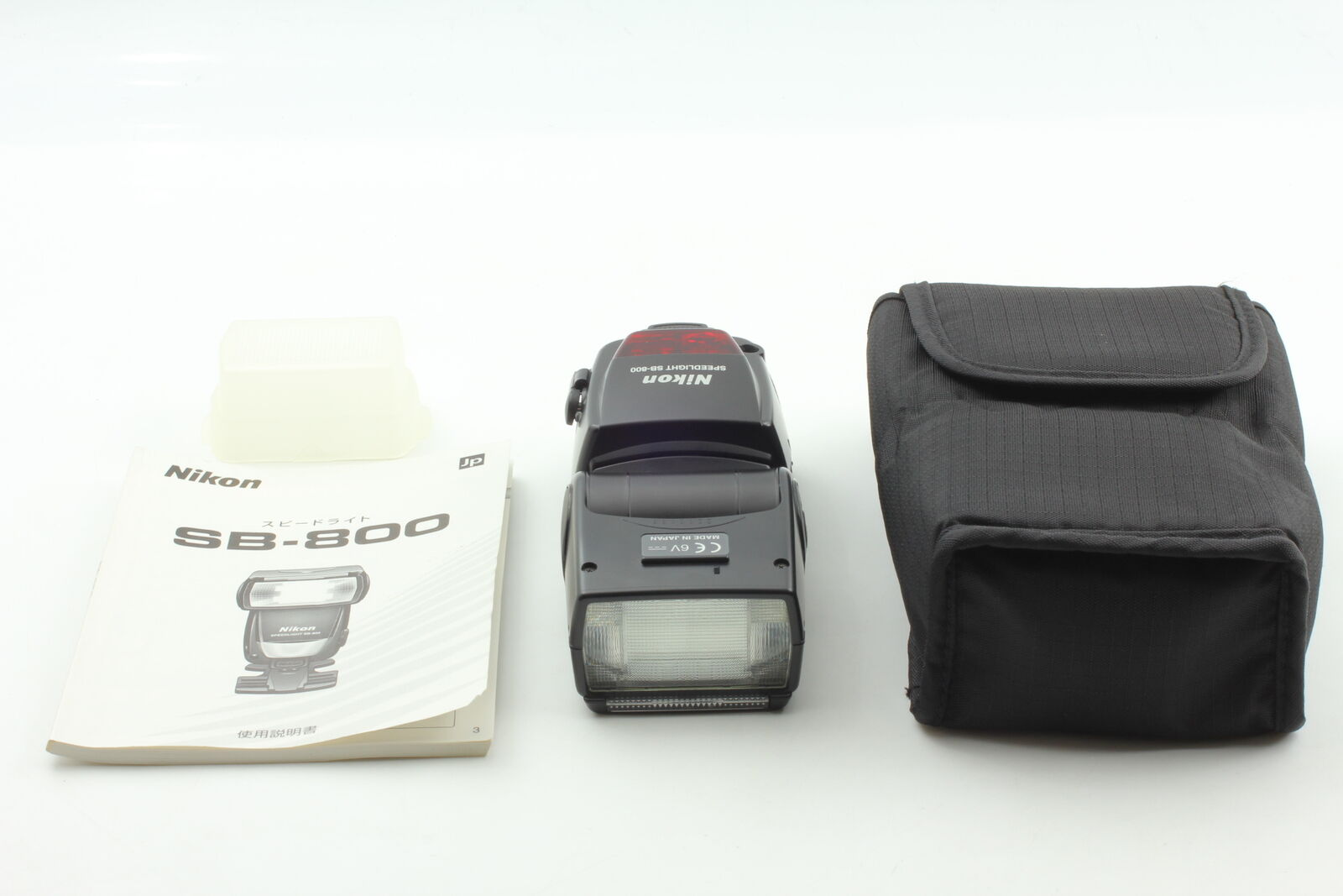 [MINT in Case] Nikon Speedlight SB-800 Shoe Mount Flash For Nikon From JAPAN