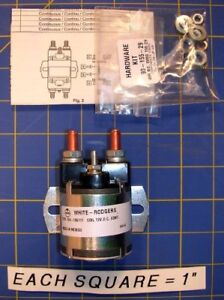WHITE-RODGERS 124-105111 124-105111 DC POWER CONTACTOR 12V CONTINUOUS D