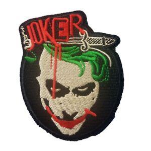 Joker-Face-Iron-On-Patch-Sew-on-Embroidered-New-The-Joker-Batman
