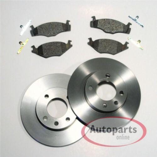 Seat Arosa 1.0 Bremsscheiben Bremsen Bremsbeläge für vorne die Vorderachse