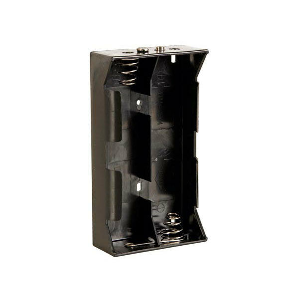 Container Power Battery 4 Placings For Batteries Type D A Torch - Carries Fleece