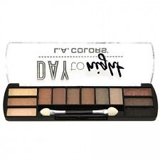 L.A. Colors Makeup Long Lasting Day to Night Eyeshadow Palette CES423 Daylight