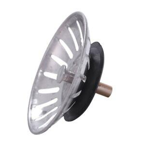 Lebensmittel-Abfall-Stopper-Spin-Sperren-8cm-Durchmesser-Abflusssieb-Sieb-F9C1