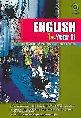 English in Year 11 by Elizabeth Tulloh, Melanie Napthine, Robert Beardwood, GBL1