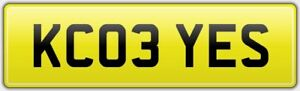 KC-PRIVATE-REG-NUMBER-PLATE-KC03-YES-FEES-INCLUDED-KENNETH-KEITH-KIM-KAY-KJC