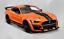 Maisto-1-18-2020-Ford-Mustang-Shelby-GT500-Diecast-Modelo-Coche-de-Carreras-Naranja-En-Caja miniatura 1