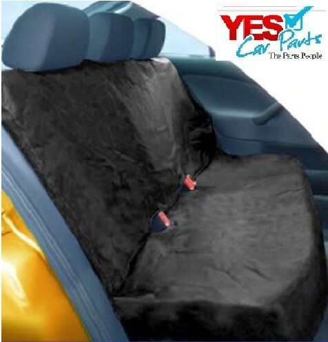 HYUNDAI TERRACAN 03-07 BLACK REAR WATERPROOF SEAT COVERS