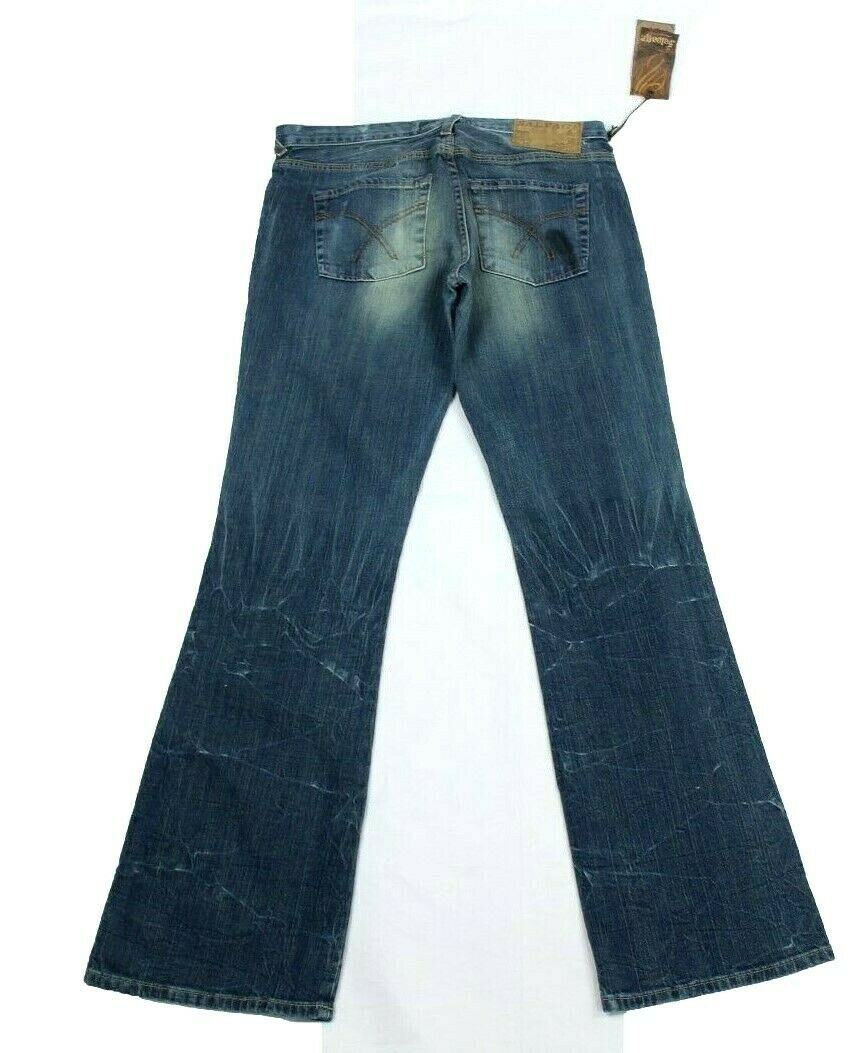 Buckle Bergung Herren Jeans Dirty-Wash Dirty-Wash Dirty-Wash Stiefelcut Jeepster Geknöpfter Hosenschlitz 7b3e77