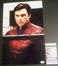 "TOM WELLING Hand-Signed ""SMALLVILLE ~Clark Kent~ Superman"" 11x17 Photo (JSA COA)"