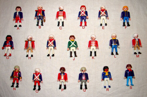 Playmobil  Pick /& Choose RARE CAVALRY /& REVOLUTIONARY WAR FIGURES 2.49 w//Combine