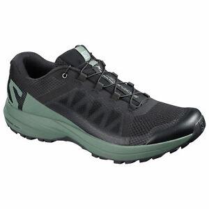 Salomon-XA-Elevate-401359-schwarz-balsam-green-black-Herren-Wandern-Wanderstiefel-Schuhe