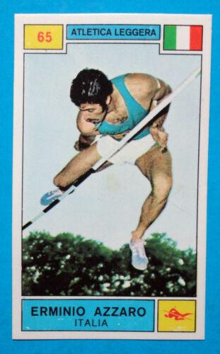 Figurina CAMPIONI DELLO SPORT 1969/70-n.65-AZZARO (ITA)-ATLETICA LEGG.-rec
