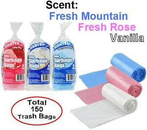 Image Is Loading 3 Packs 150 Total Scented Small 4 Gallon