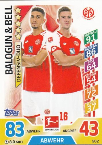 ligue Maillot cartes Topps Match Attax EXTRA 2018-Base dehors maillot Duo 2