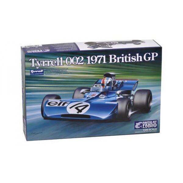 TYRRELL 002 1971 GP BRITISH KIT 1 20 EBBRO 008.5800 008.5800 008.5800 c1131c