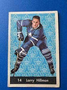Larry-Hillman-1961-62-Parkhurst-Hockey-Card-14-Toronto-Maple-Leafs