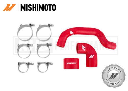 FITS SUBARU IMPREZA STI 06-07 MISHIMOTO SILICONE INTERCOOLER HOSE KIT RED