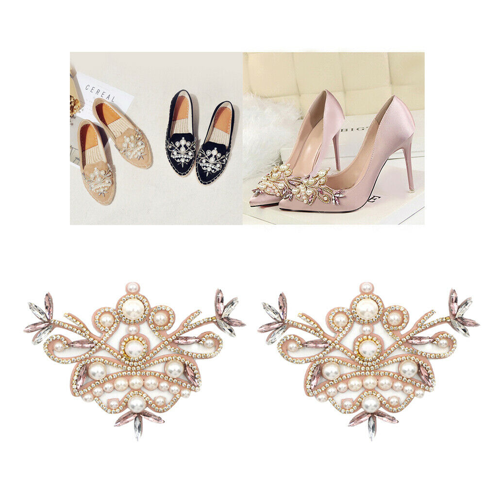 1 Pair Women Shoe Charms Clip Wedding Bridal Pointed Shoes Ornaments Jewelry