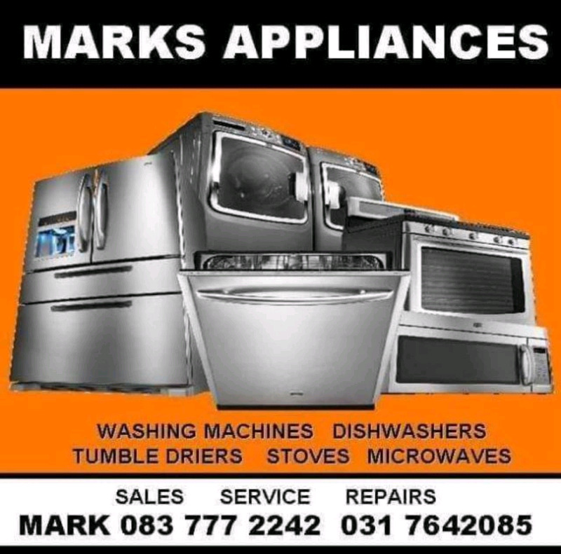 We Repair and Service all makes of major kitchen Appliances in the Hig