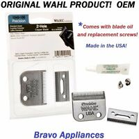 Wahl 1045-100 Replacement Blade Set Pro 2 Hole Precision Clipper Blade