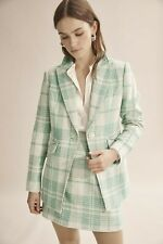 Country Road Panelled Single Breasted Blazer - Mint