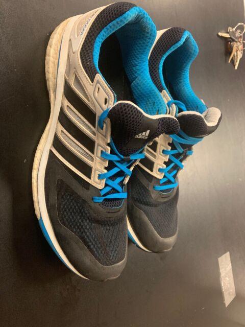 adidas Supernova Glide Mens Running Shoe Silver Sz 20 for