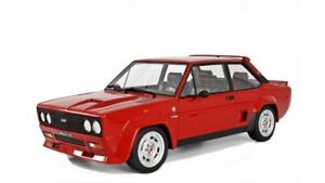 FIAT-131-Abarth-stradale-1976-ROSSO-1-18-resin-Laudoracing-lm109a-NUOVO-amp-OVP