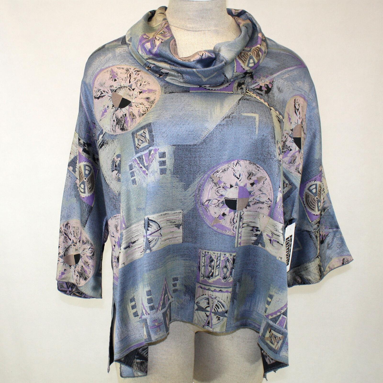 Neu Carole Tomkins die Großen Hemd Ming Dynastie Paulie 2,2x Hergestellt in USA