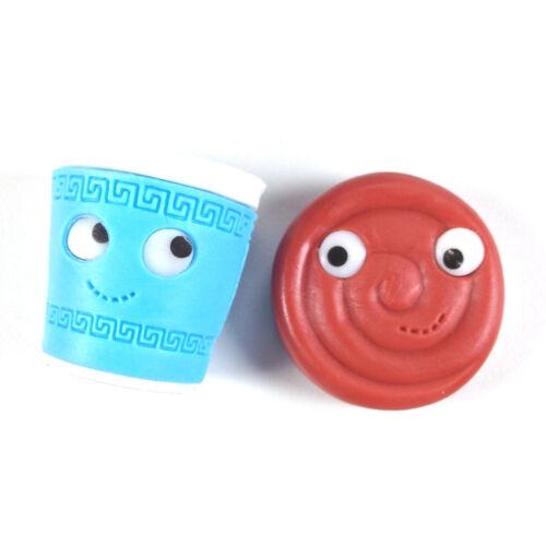 kidrobot YUMMY BREAKFAST Erasers   Kawaii BTS Eraser U Pick 10