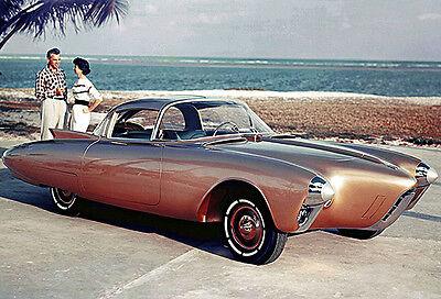 1956 Oldsmobile Golden Rocket Concept Car - Photo Poster
