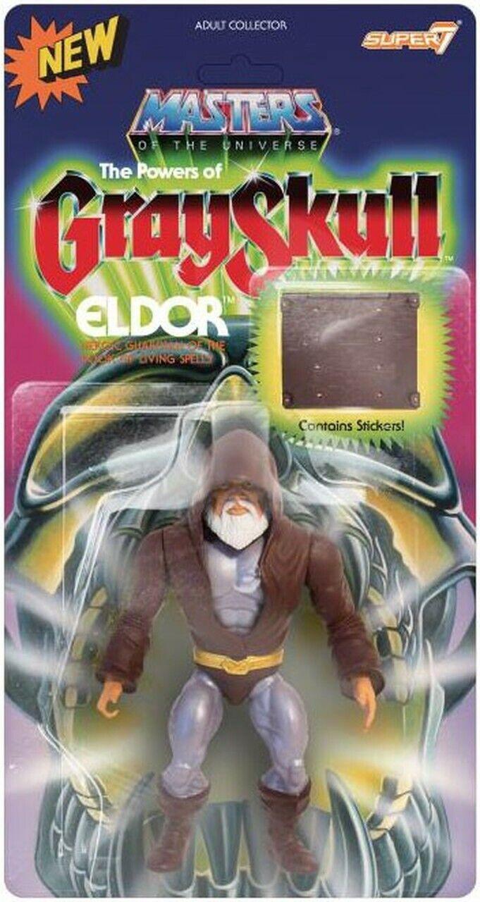 Masters of the Universe Eldor Action Figure Super 7 2019 Motu Vintage Series