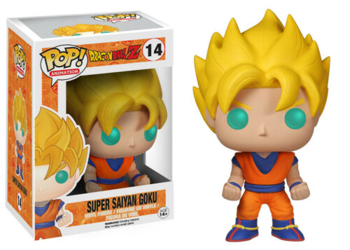 SUPER SAIYAN GOKU Pop Vinyl Figure ANIMATION DRAGONBALL Z FUNKO POP