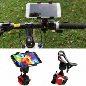 Universal-Motorcycle-MTB-Bicycle-Handle-Bike-Mount-Holder-for-Cell-Phone-GPS-AA