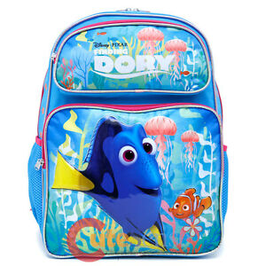6d9bef03ae4 Finding Dory School Backpack Large 16in Girls Nemo Book Bag - Pink ...