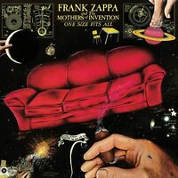 Frank Zappa One Size Fits All 180g Limited Gatefold Sealed Vinyl Lp