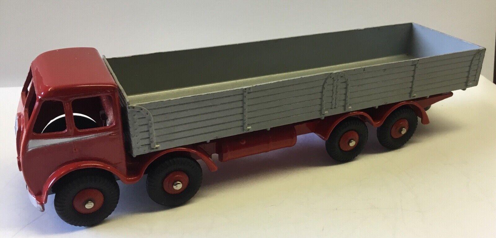 Dinky Toys 501 Antiguo 1st tipo Foden Diesel 8 Rueda Camión. excelente restauración
