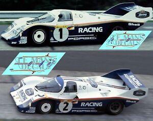 Calcas-Porsche-956-Nurburgring-1983-1-2-1-32-1-43-1-24-1-18-Bellof-Bell-decals