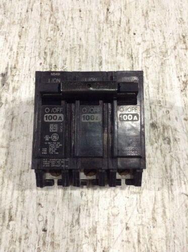 New THHQB32045 General Electric Circuit Breaker 3 Pole 45 Amp 240V