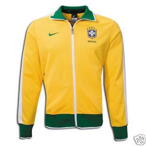 Nike Chaqueta Yellow Futbol Brazil Wc Brasil New de World Lu deportiva 2010 Cup qYqxra4wp